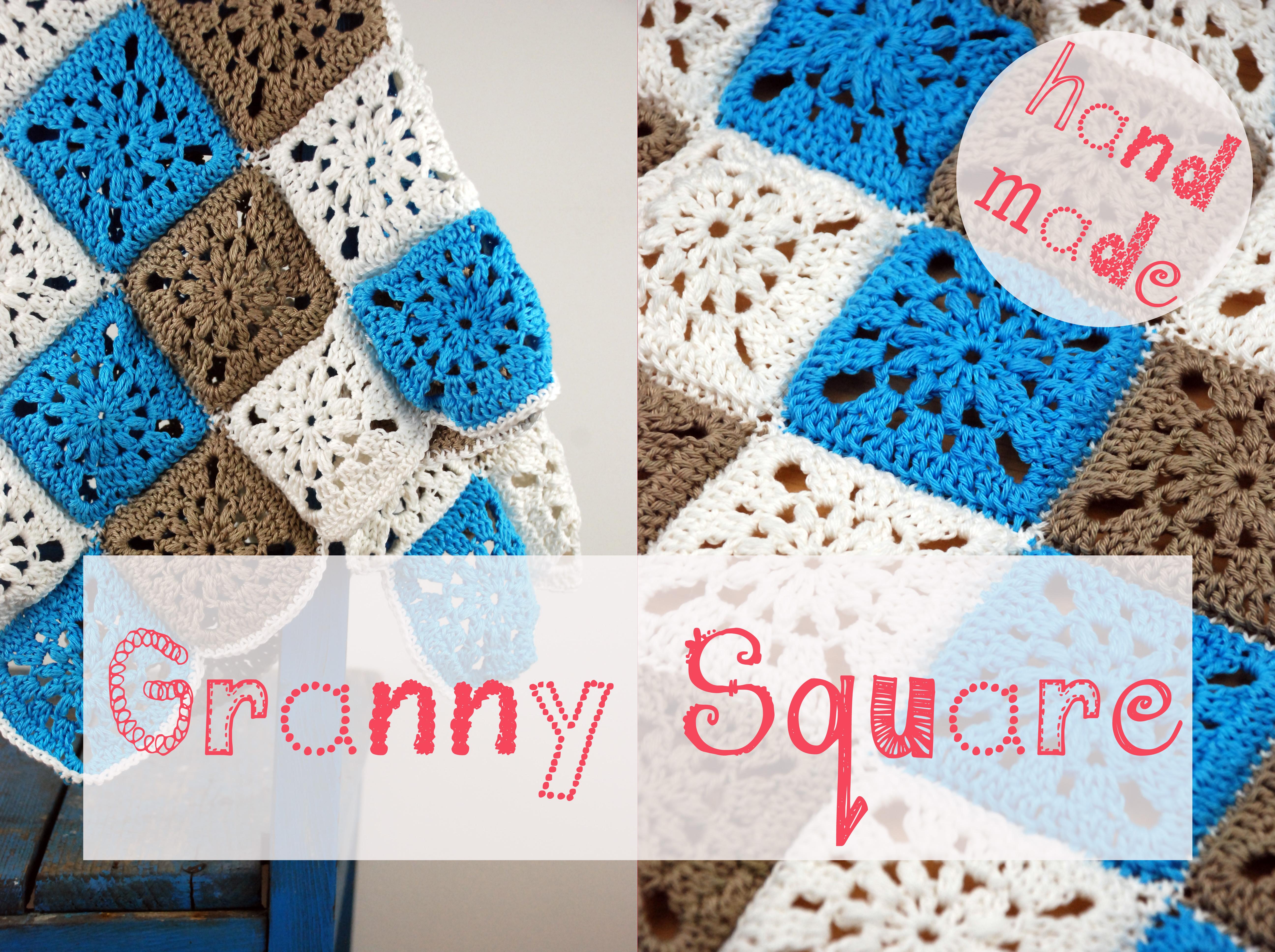 Decke aus Granny Squares - barfuss.im.november