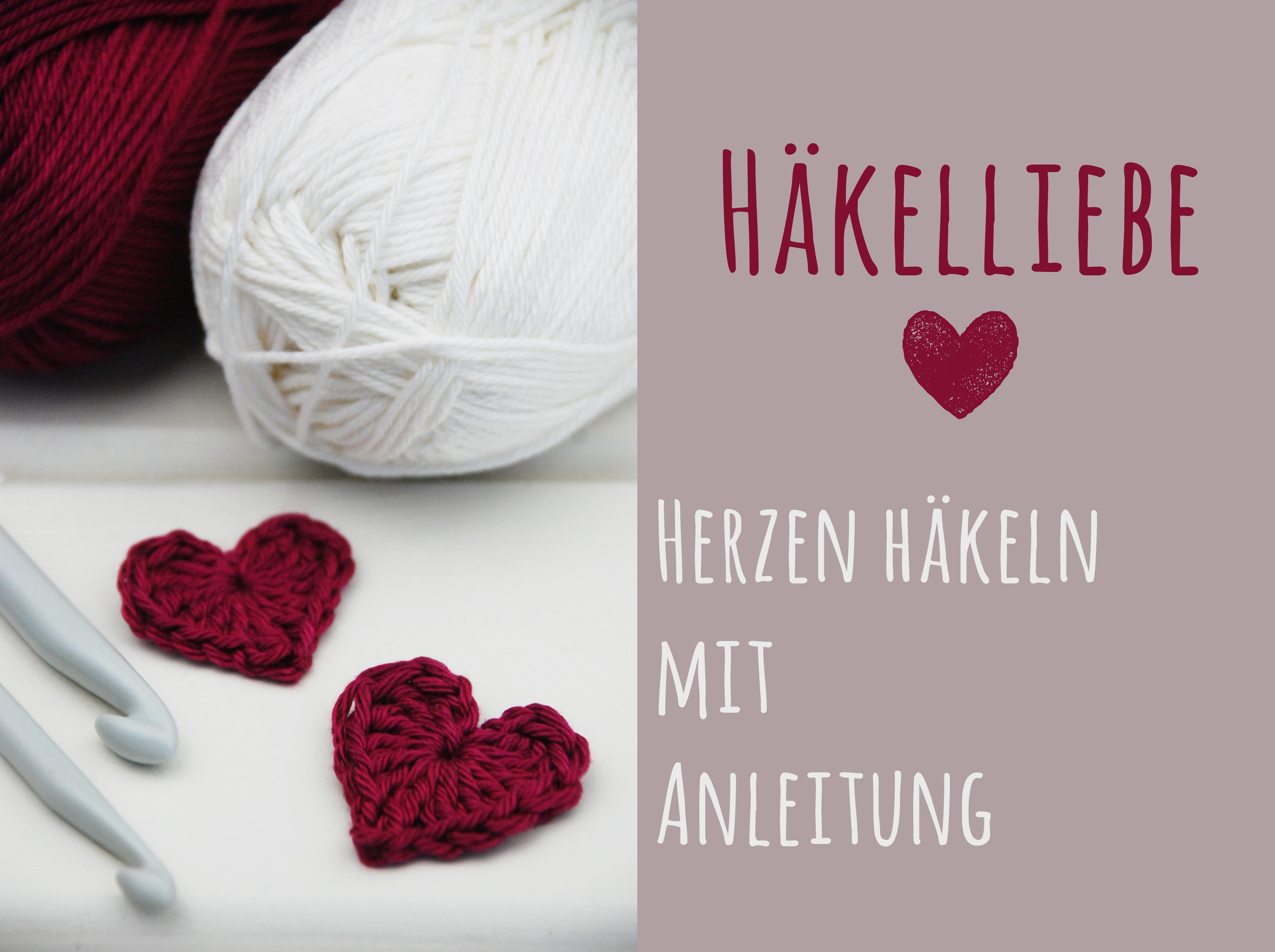 Häkelliebe Anleitung Zum Herzen Häkeln Barfussimnovember