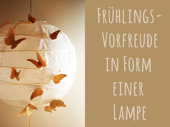 Schmetterling-Lampe