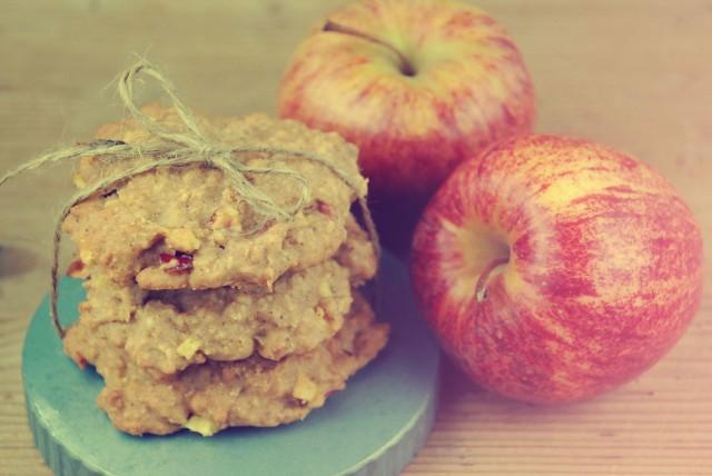 Apfel-Hafer-Kekse10